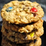 Mouth Watering Crunchy Cornflake M&M Cookies