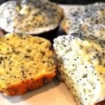 Lemon Poppy Seed Muffins With Light Lemon Frosting