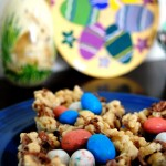 Rice Krispie and Malted Chocolate Eggnests