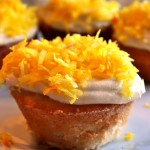 Coconut Engagement Cupcakes!!!