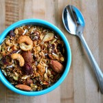 Winter Spiced Granola