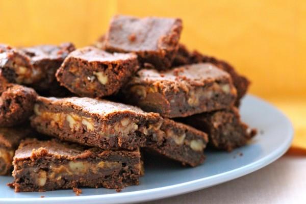 Caramel Pecan Brownies 2