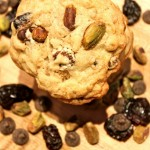 Dark Chocolate Pistachio Cherry Cookies