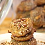 Butterscotch Orange Pecan Date Cookies