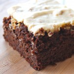 Molasses Cake with Cream Cheese Frosting
