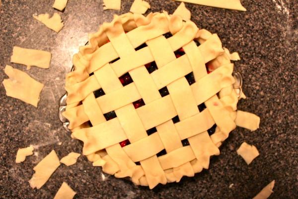 Lattice Pie Top - Berry Pie