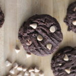 Sea Salt Caramel Chip Chocolate Cookies