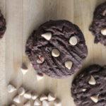 Sea Salt Caramel Chip Chocolate Cookies